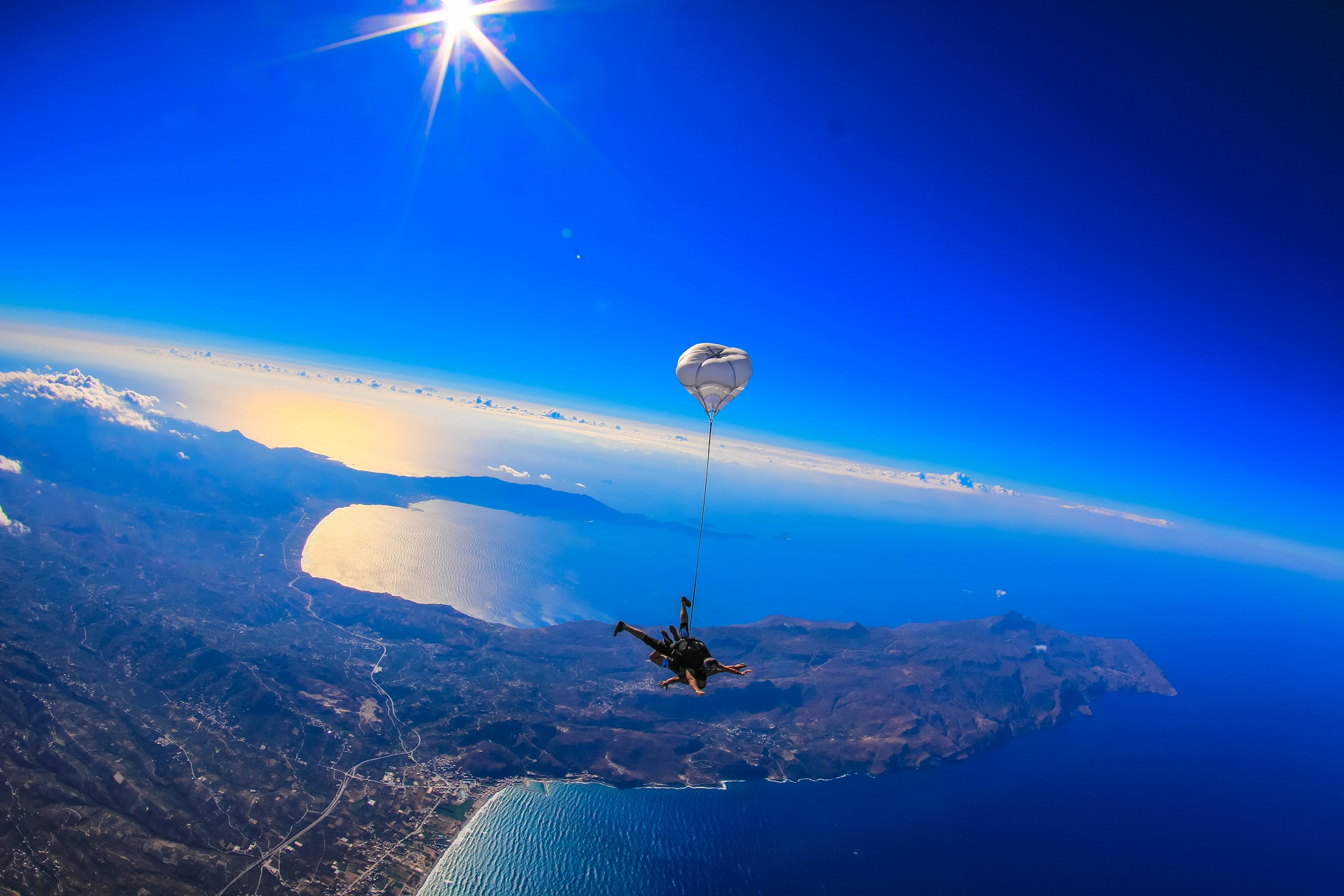 Tandem Jump in Athens – Skydive – CC Talents – We Hire Talents!